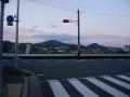160429JR高井田駅から大和川へ