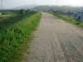 160508未舗装路を走る
