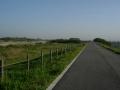 160508城陽側の木津川の堤防をさらに下っていく