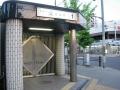 160604夜は明けたが、まだ閉鎖中の北山駅