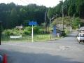160604百井集落の三叉路を前ヶ畑峠へ