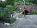 160611笠置トンネルの手前から山側に入る
