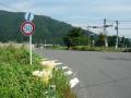 160618大音の交差点で国道8号を回避