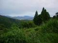 160716大峰林道西側から京都市街方面の眺望