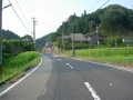160814信楽小川から多羅尾に向かって上る