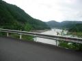 160906日吉ダムから天若湖の北側を進む