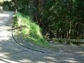 161112逢坂峠から金蔵寺への激下りヘアピン