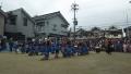160708娘の卒園した保育園の夏祭り