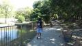 160827娘と近所の公園を散歩