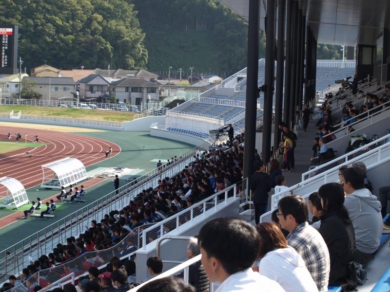 紀三井寺運動公園陸上競技場