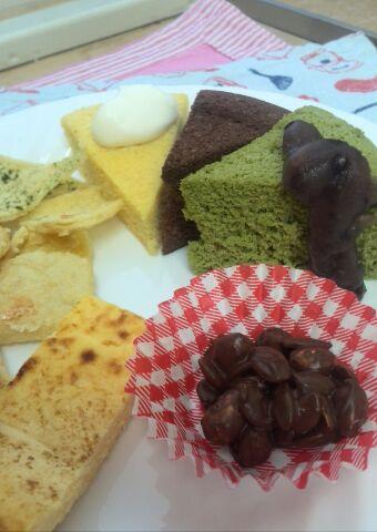 おからケーキ3種