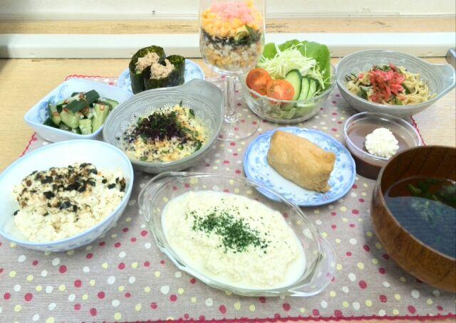 京都レッスン「ご飯ものメニューを低糖質で!」