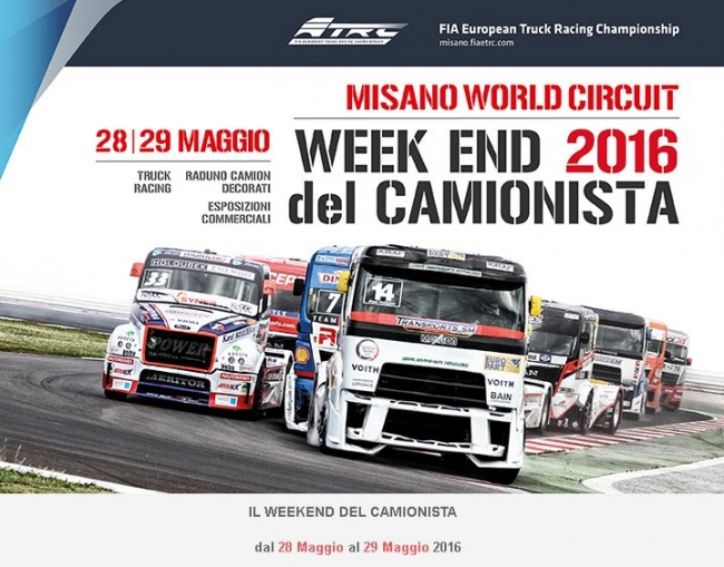 week end 2016 del CAMIONISTA MISANO
