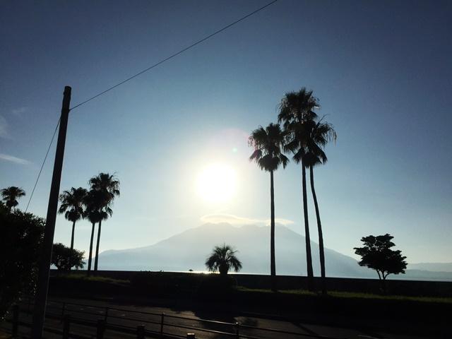 暑い鹿児島1