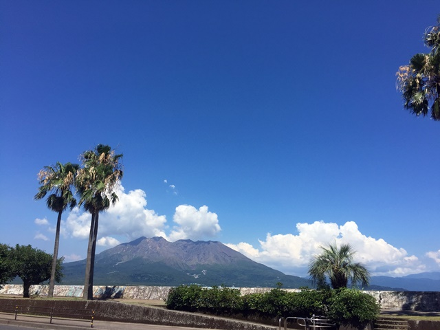 暑い鹿児島3