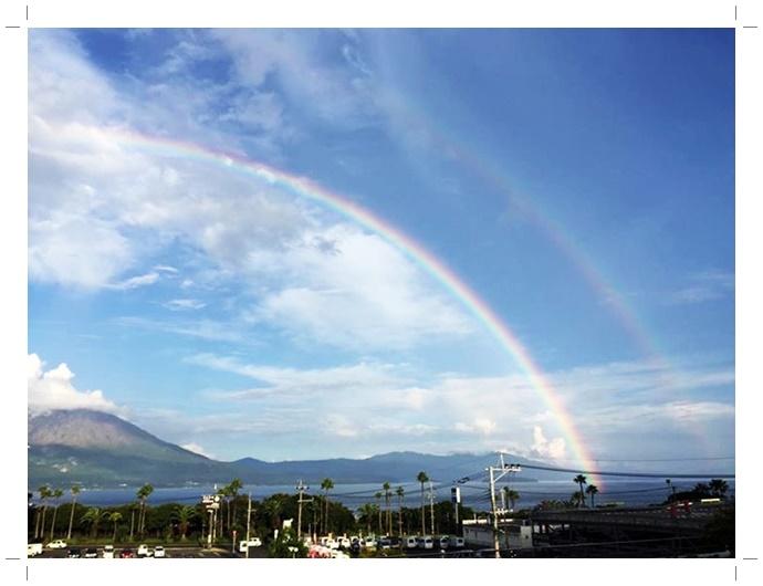 桜島の虹1-1