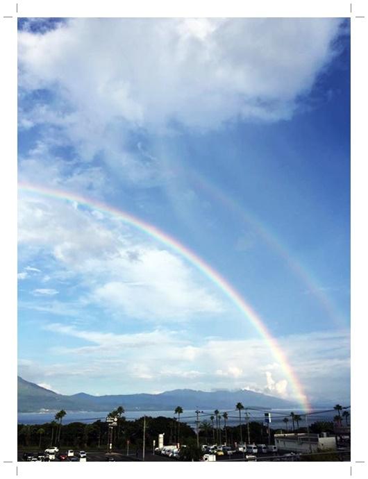 桜島の虹1-2