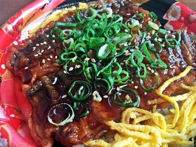 秋刀魚蒲焼丼1-2