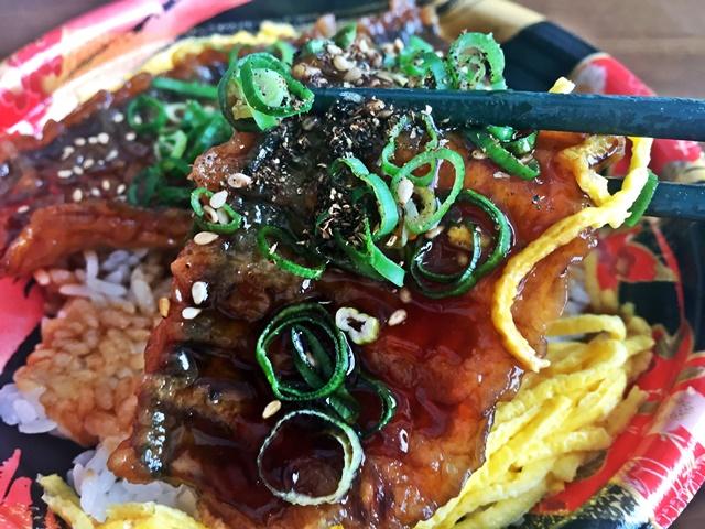 秋刀魚蒲焼丼1-3