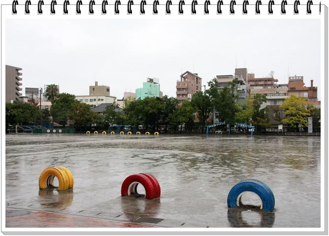 雨運動会1