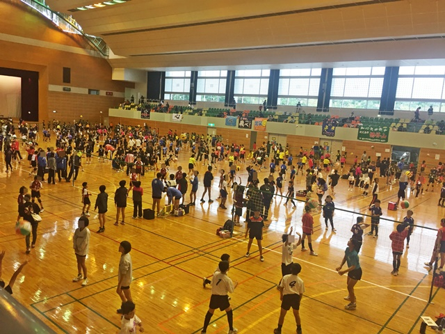 ソフトバレー大会1-1