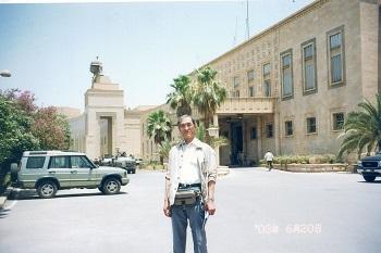 大統領宮殿跡のCPU本部