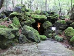 久保田一竹美術館 普賢菩薩像の洞窟