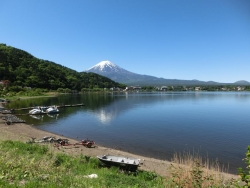 河口湖 ホテル美富士園付近 2016.05.12 9:33