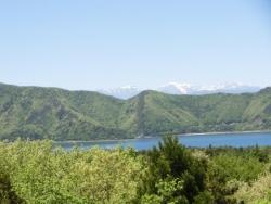 本栖湖と白峰三山(農鳥岳・間ノ岳・北岳)2016.05.12