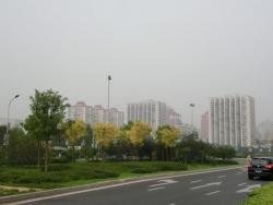 朝阳区のマンション群