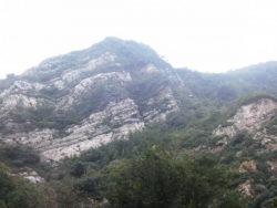 八達嶺地区の地層
