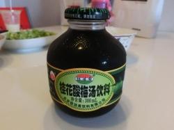 桂花酸梅湯飲料