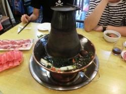 しゃぶしゃぶの鍋