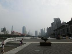 天津市古文化街旅游区 親水平台より海河