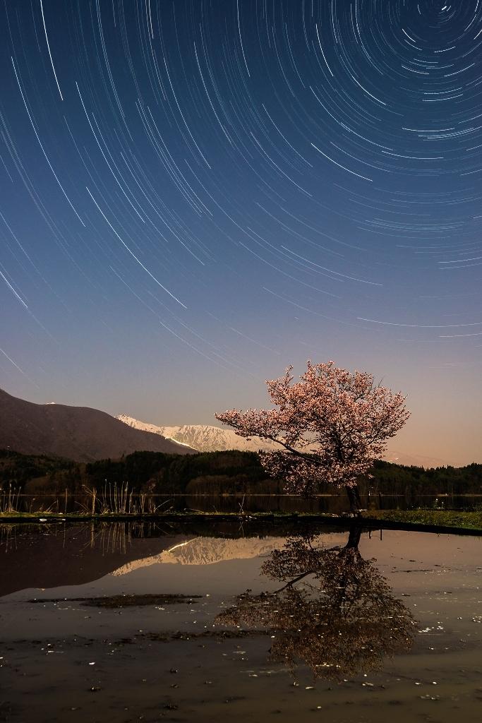 2016.04.26青木湖の星景1