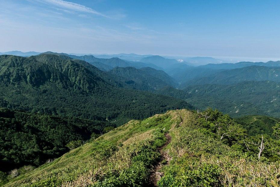 2016.06.183.5km地点~三ノ峰避難小屋手前9