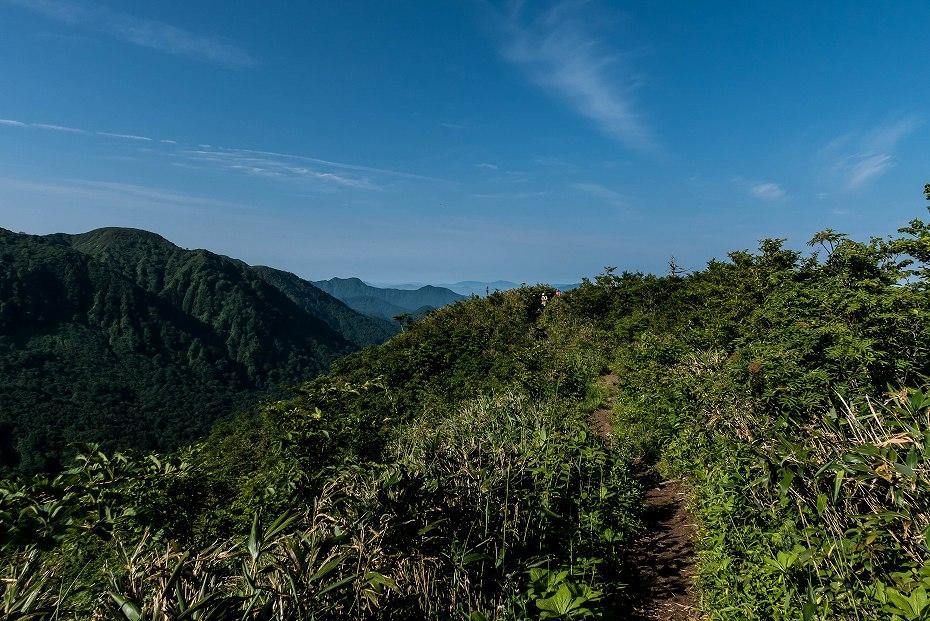2016.06.183.5km地点~三ノ峰避難小屋手前2