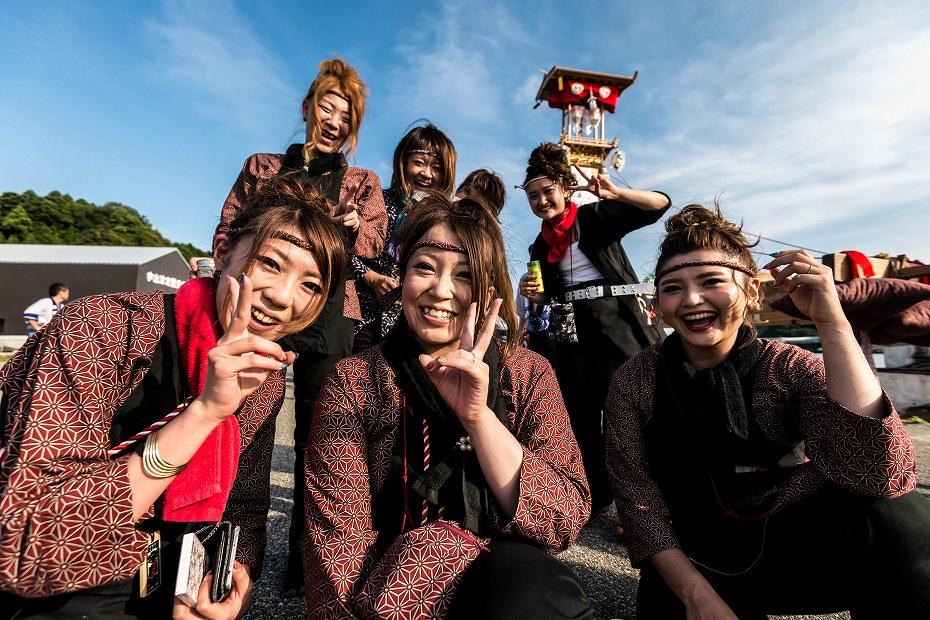 2016.07.02あばれ祭り_1日目キリコ巡行20