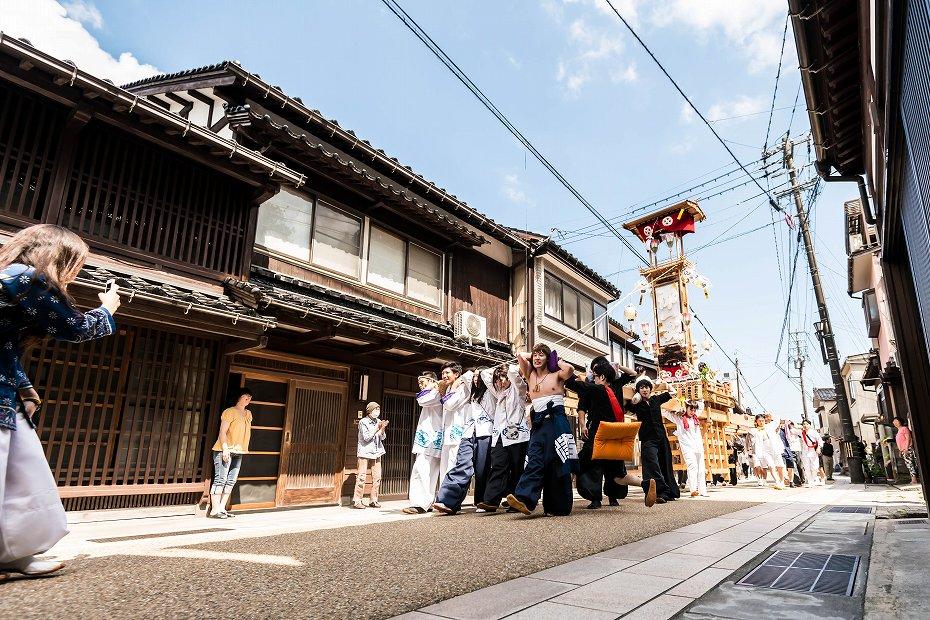 2016.07.02あばれ祭り_1日目キリコ巡行1