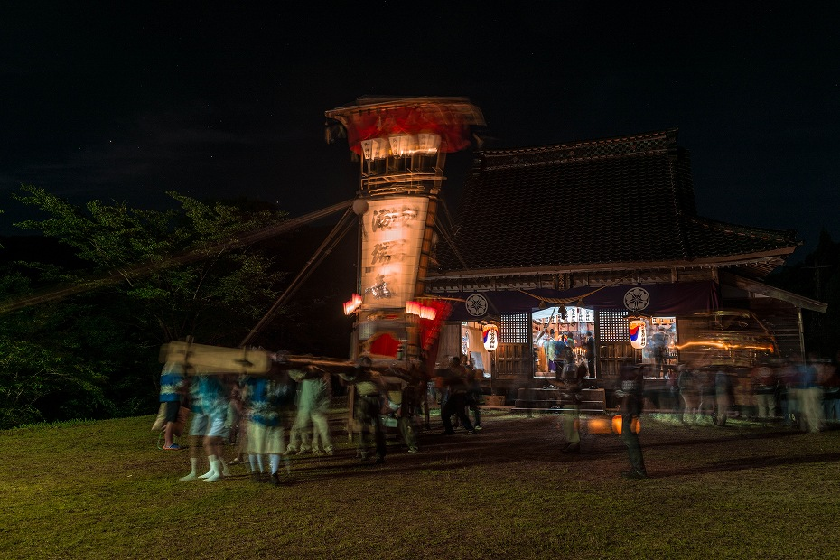 2016.07.22上町キリコ祭り1