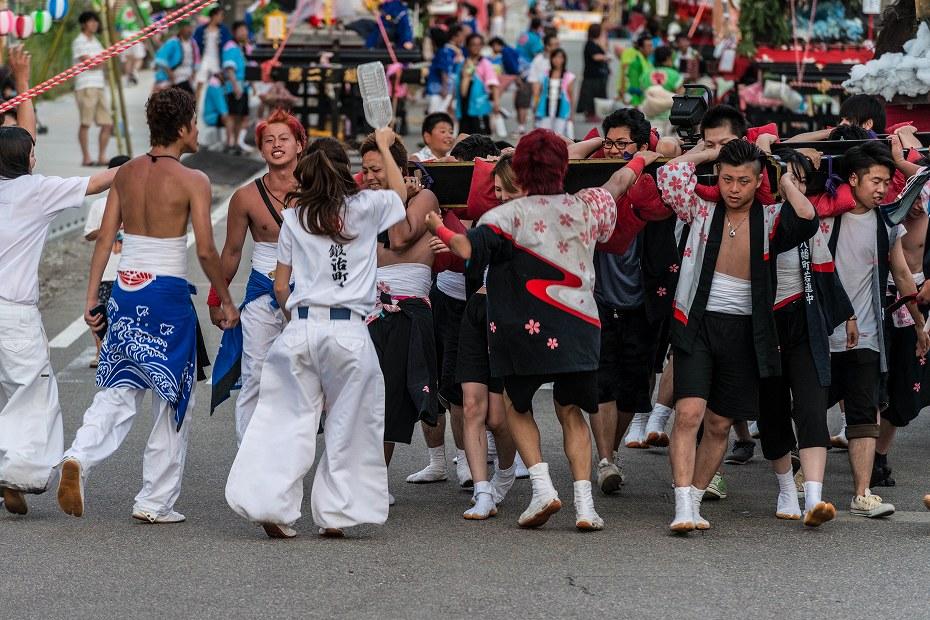2016.07.23松波人形キリコ祭りの練り歩き13