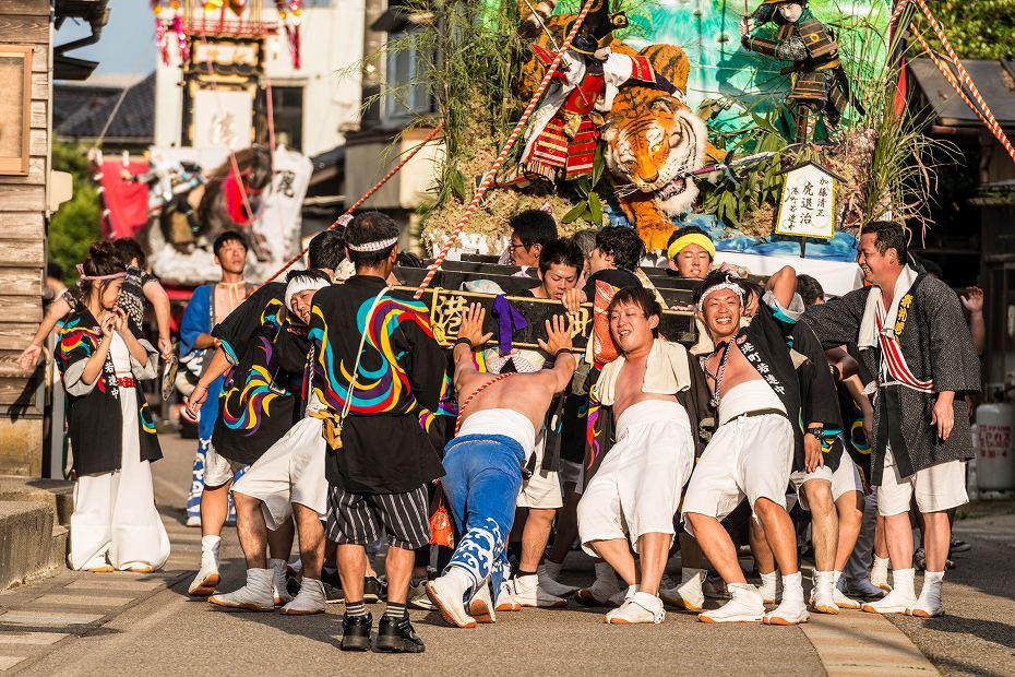 2016.07.23松波人形キリコ祭りの練り歩き9