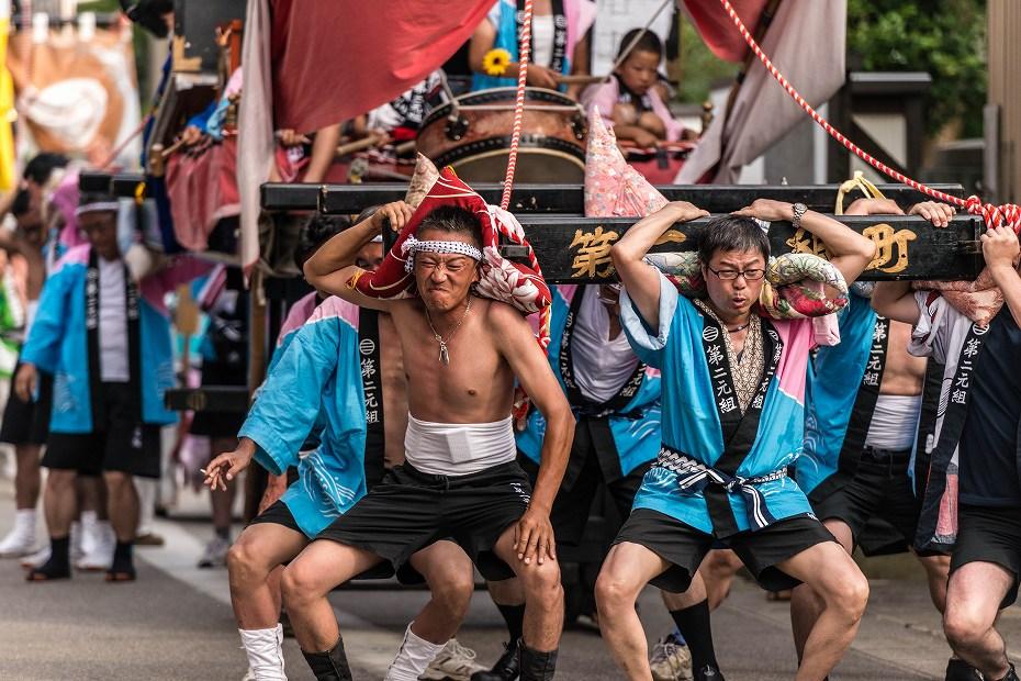 2016.07.23松波人形キリコ祭りの練り歩き7