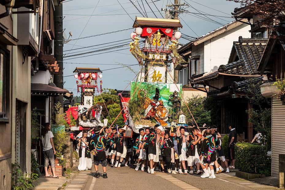 2016.07.23松波人形キリコ祭りの練り歩き8