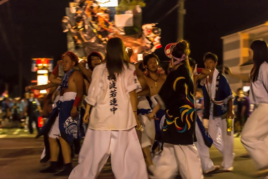 2016.07.23松波人形キリコ祭り夜の乱舞8