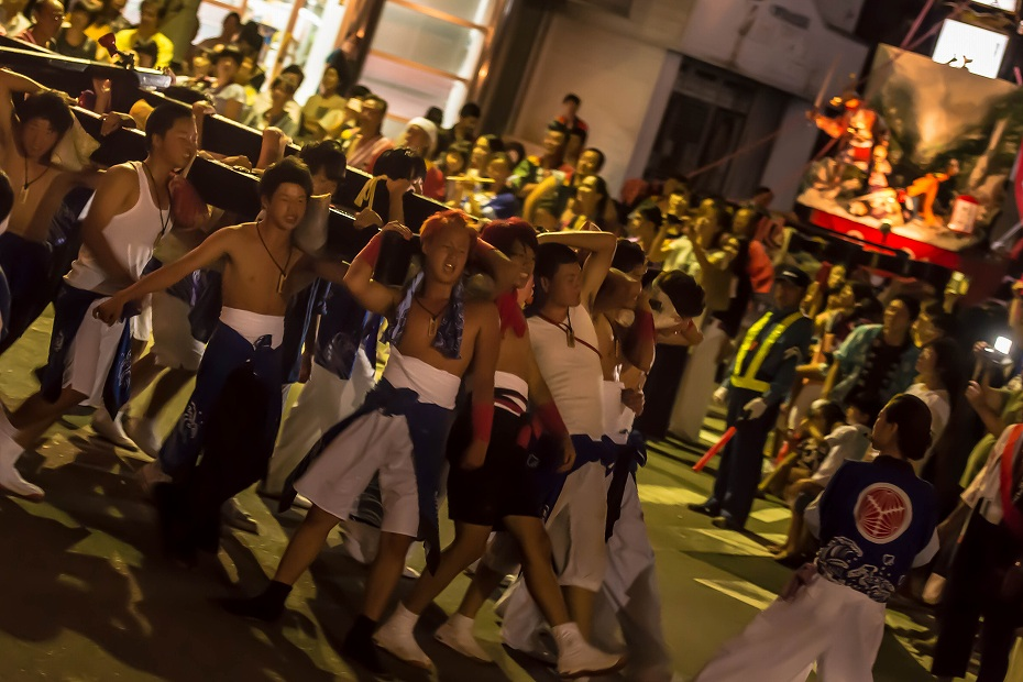 2016.07.23松波人形キリコ祭り夜の乱舞10