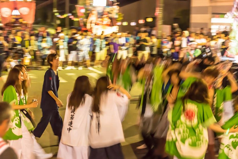 2016.07.23松波人形キリコ祭り夜の乱舞11