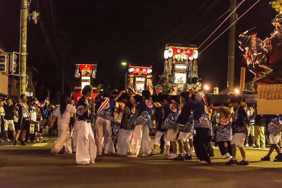 2016.07.23松波人形キリコ祭り夜の乱舞9
