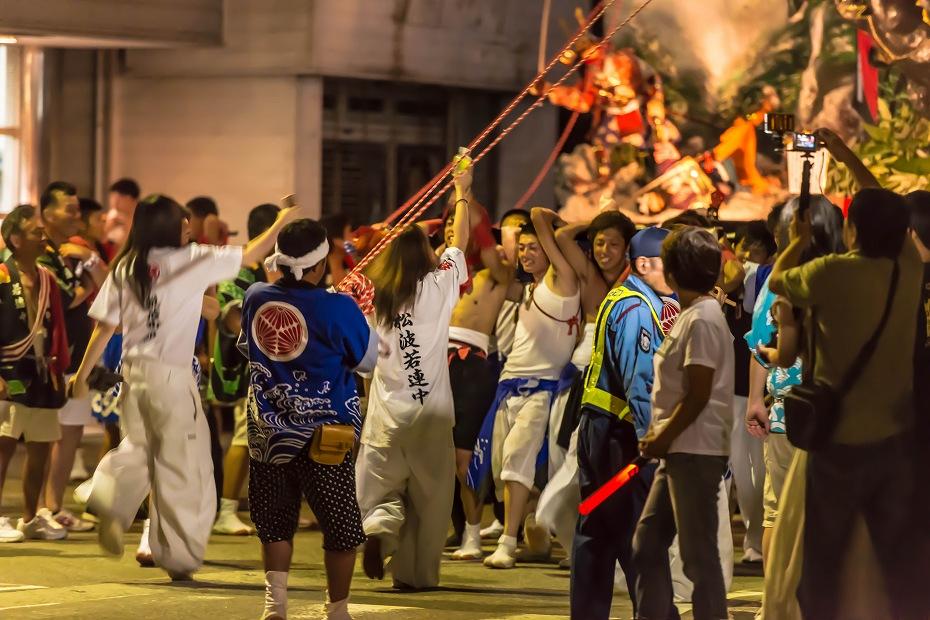2016.07.23松波人形キリコ祭り夜の乱舞7