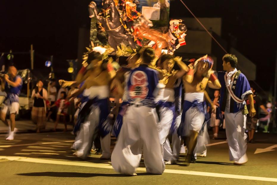 2016.07.23松波人形キリコ祭り夜の乱舞5